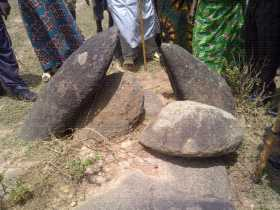 SACRED STONES AT DUNG (JABAN KOGO)