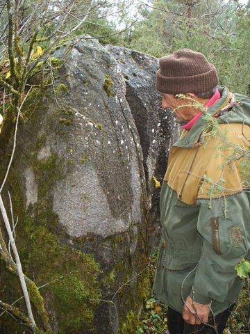Tondikivi, Lõhkine kivi