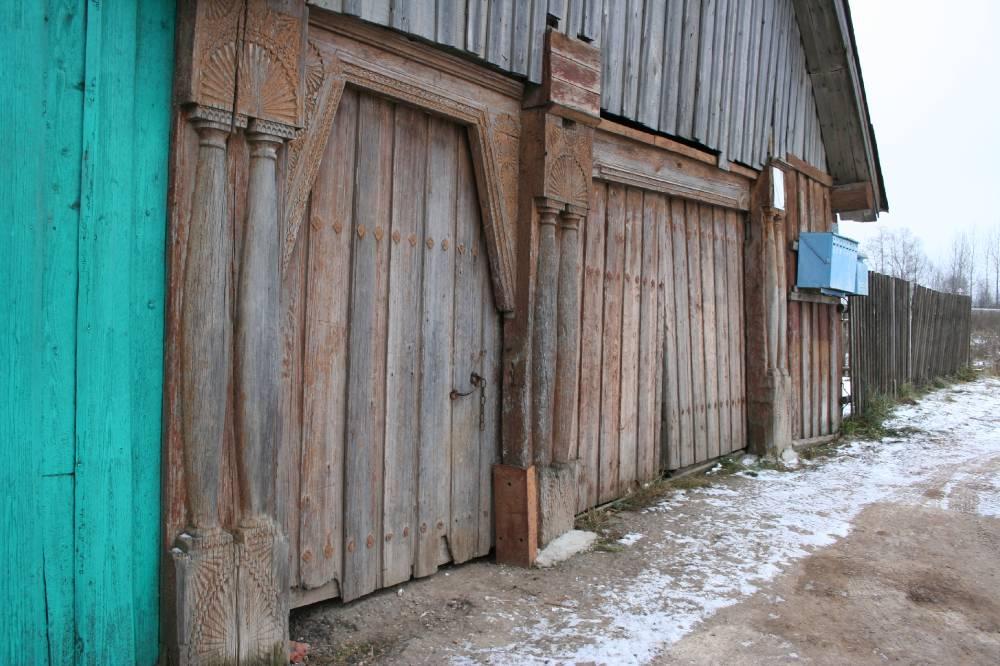 Старинные марийские ворота