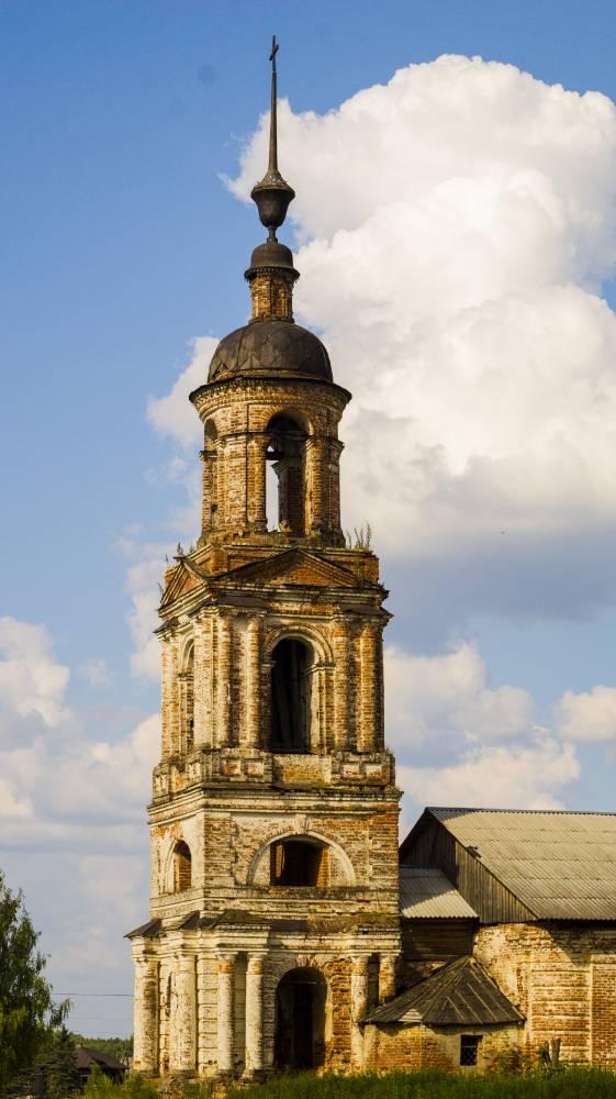 Старая церковь в Заборье