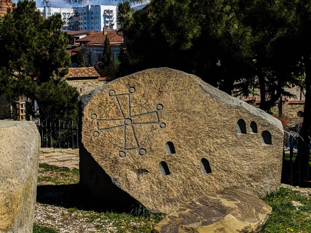 Камень защитникам Горис - цихе