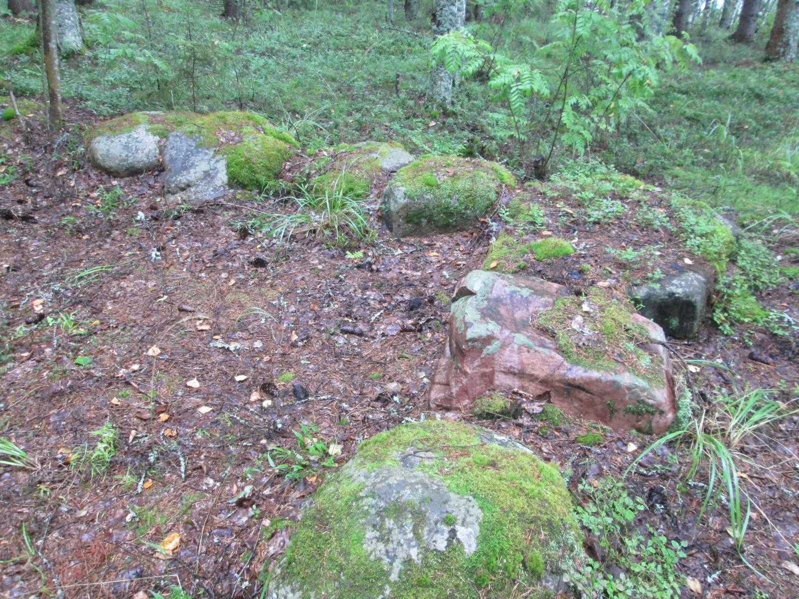 Намоленные камни Сарозера