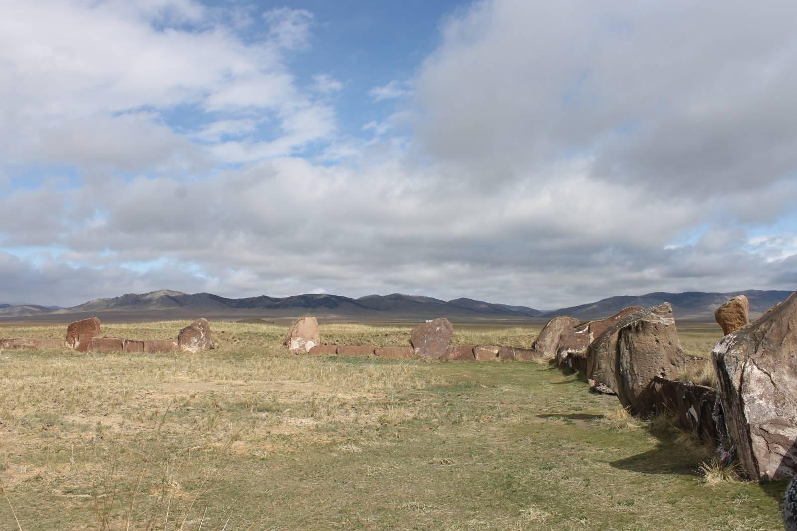 Салбыкские курганы.