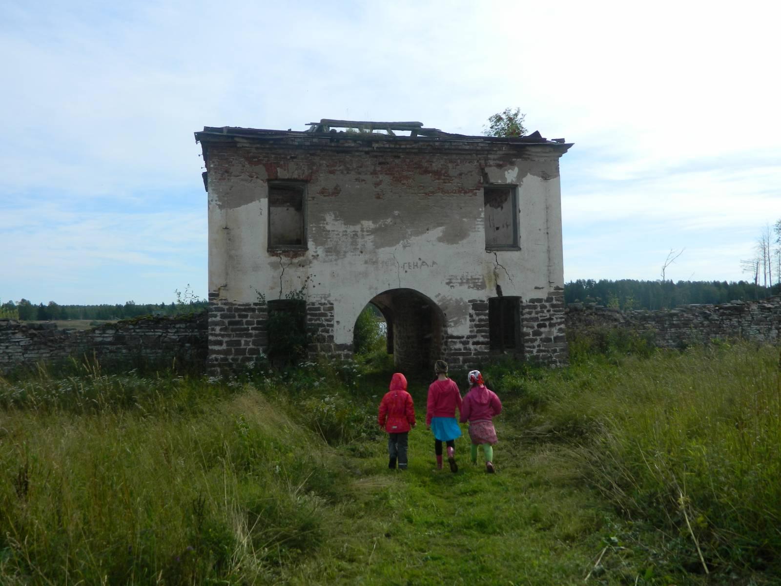 Гости монастыря