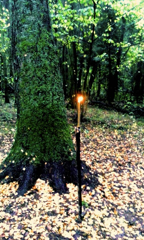 Первая свеча у онапу