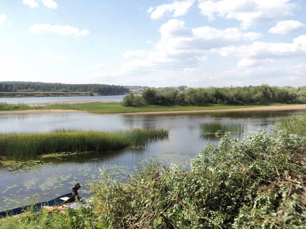 слияние рек Мезень и Ирва