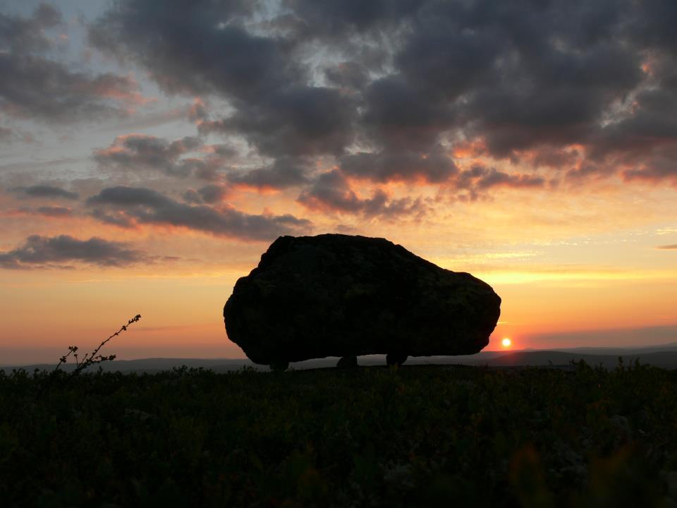 Seita stone at Nuorunen Mountain