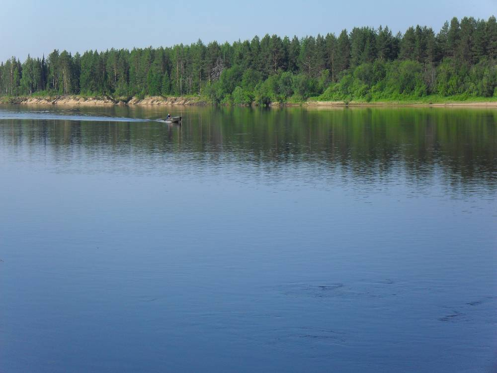 Река Мезень. Одна из чистейших рек Европы.