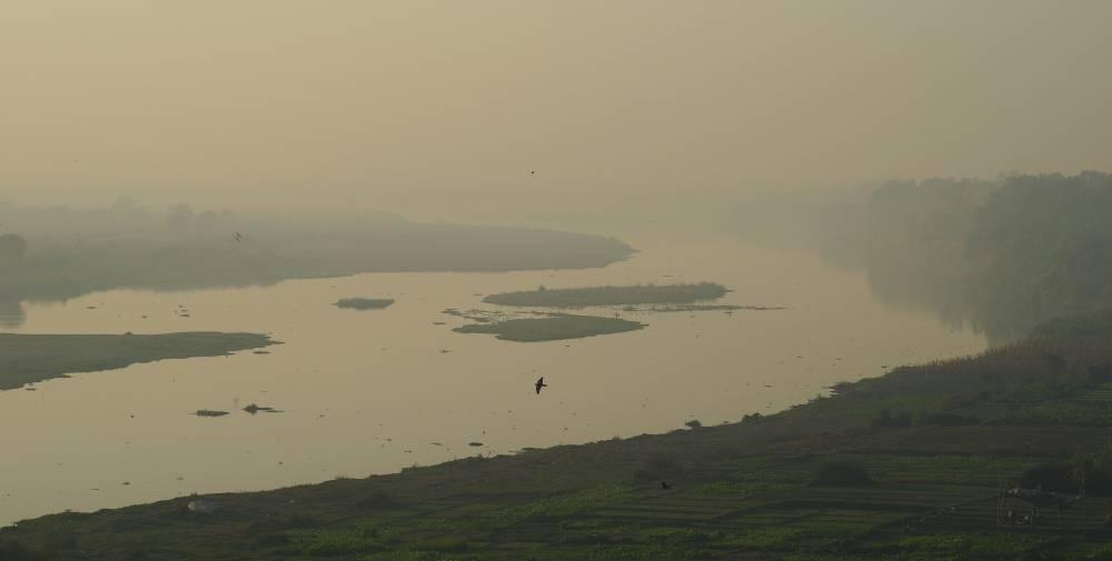 Священная река Ямуна.